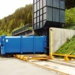 Quai de transfert et compactage - Tignes - Savoie