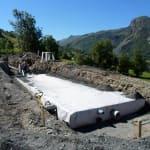 Bassin de rétention enterré Villarabout - Les Belleville - Savoie