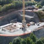 Terrassement et génie civil Station d'épuration - Les Ménuires- Savoie