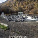 Prise d'eau Saint-Marcel - Les Belleville - Savoie