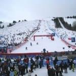 Stade de slalom - Courchevel - Savoie