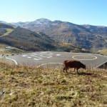 Hélistation Val-Thorens - Les Belleville - Savoie