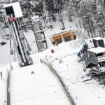 Tremplin saut a ski - Prémanon Les Rousses - Jura