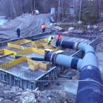 Usine Hydroélectricité - Vailly - Haute-Savoie