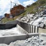 Entonnement Val-Thorens - Les Belleville - Savoie