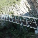 Passerelle Gorges aux pigeons - Brides-les-Bains - Savoie