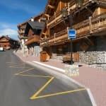 Aménagement route de la montée - Les Allues - Savoie