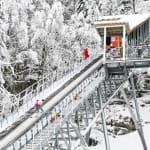 普雷芒翁滑雪场,汝拉省,法国