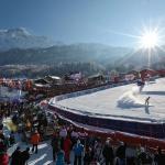 Stade du slalom du Kandahar - Chamonix Les Houches - Haute-Savoie